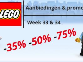 LEGO Aanbiedingen week 33 & 34