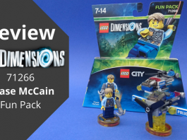 LEGO Dimensions 71266 Chase McCain Fun Pack