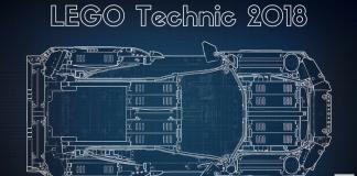 LEGO Technic 2018 details