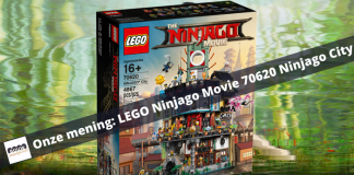 Onze mening- LEGO Ninjago Movie 70620 Ninjago City