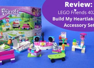 LEGO Friends 40264 Build My Heartlake City Accessory Set