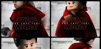 LEGO The Last Jedi Character posters
