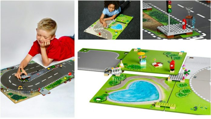 LEGO City 853656 & LEGO Friends 853671 speelmatten nu verkrijgbaar