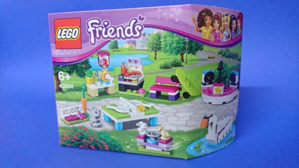 LEGO Friends 40264 Build My Heartlake City Accessory Set