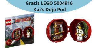 Gratis LEGO 5004916 Kai's Dojo Pod