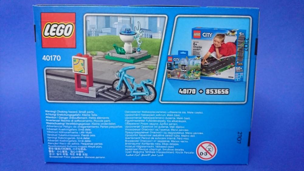 LEGO City 40170 Build My City Accessory Set