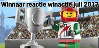 Winnaar Reactie Winactie Juli 2017