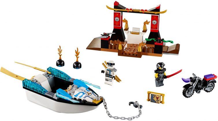 LEGO Juniors 10755 Zane's Ninja Boat Persuit