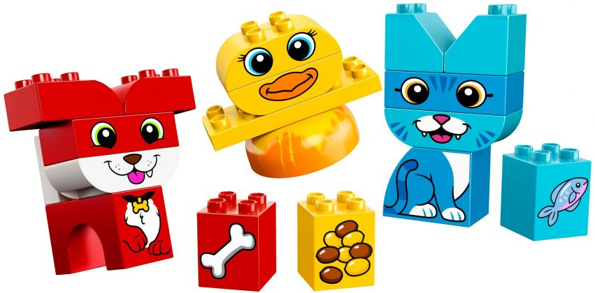LEGO Duplo 10858 My First Puzzle Pets