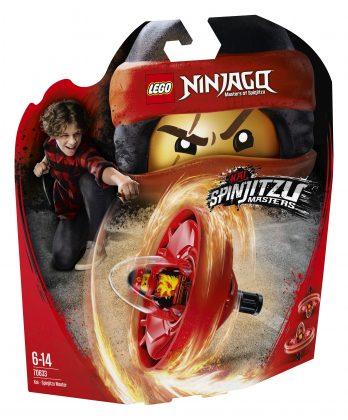LEGO Ninjago70633 Kai - Spinjitzu Master