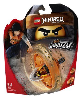 LEGO Ninjago70637 Cole - Spinjitzu Master