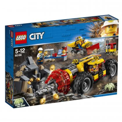 LEGO City60186 Mining Heavy Driller
