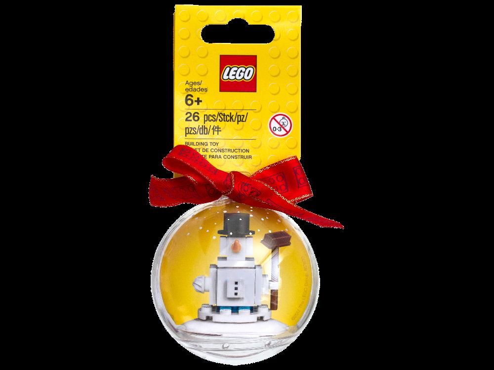 LEGO 853670 Iconic Christmas OrnamentSnowman