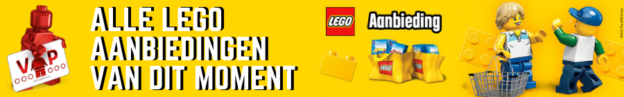 Alle LEGO Aanbiedingen op dit moment