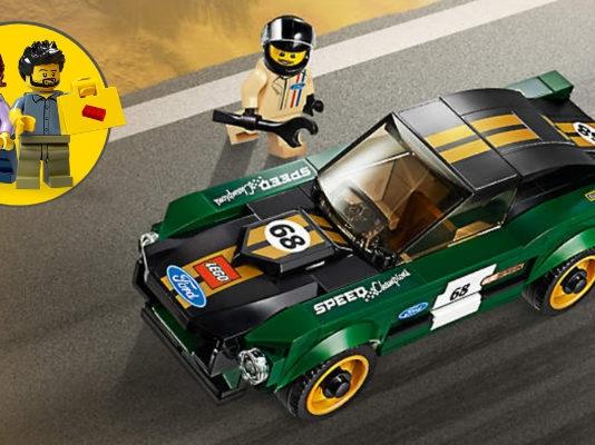 Gratis LEGO 1968 Ford Mustang Fastback