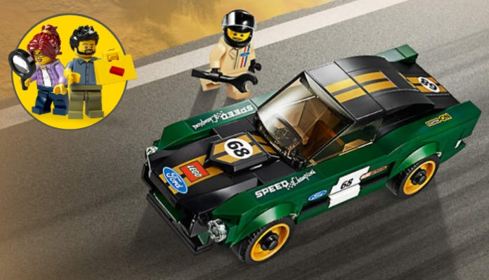 Gratis LEGO 1968 Ford Mustang Fastback