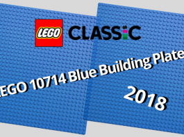 LEGO 10714 Blue Building Plate