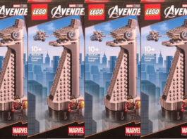 LEGO 40334 Avengers Tower opgedoken