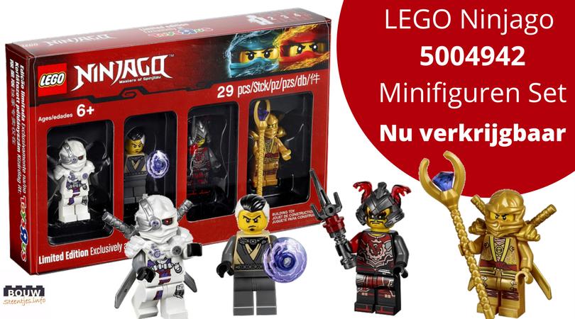 Verbazingwekkend LEGO 5004938 Ninjago Minifigure Set nu te koop - Bouwsteentjes.info CR-36