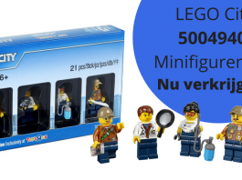 LEGO City 5004940 Minifiguren Set nu verkrijgbaar