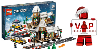 LEGO Creator Expert 10259 Winter Train Station