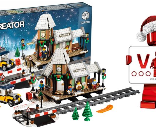 LEGO Creator Expert 10259 Winter Train Station