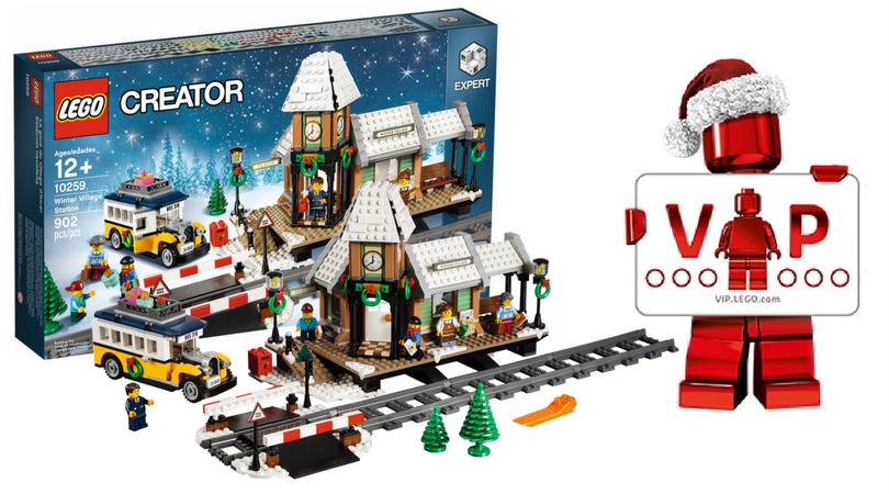 LEGO Creator Expert 10259 Winter Village Station verkrijgbaar voor ...