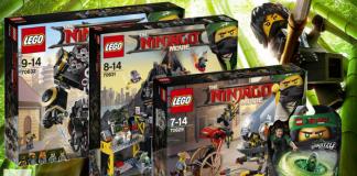 LEGO Ninjago Movie winter 2018 wave