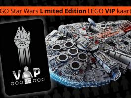LEGO Star Wars Limited Edition LEGO VIP kaart