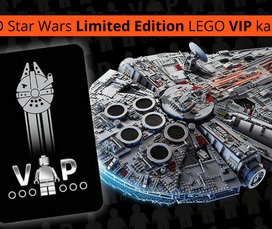LEGO Star Wars Limited Edition LEGO VIP kaart