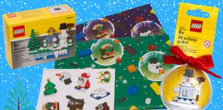 LEGO kerst sets 2017