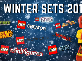 LEGO sets winter 2018
