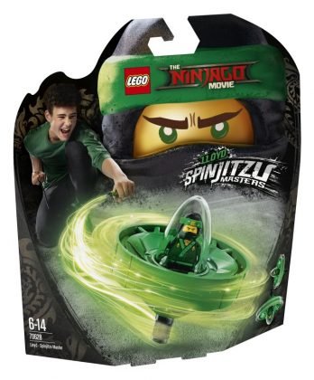 LEGO Ninjago Movie 70628 Lloyd Spinjitzu Master