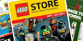 EU LEGO Store kalender september-oktober