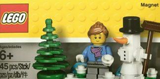 LEGO 853663 Christmas Magnet