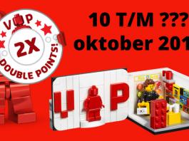 Dubbele LEGO VIP punten 2017