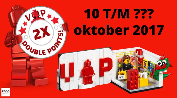 Dubbele LEGO VIP punten 2017 - Bouwsteentjes.info