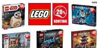 20% Korting LEGO
