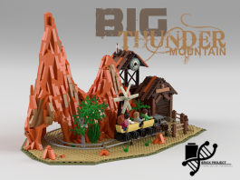 LEGO Ideas Disneyland Big Thunder Mountain