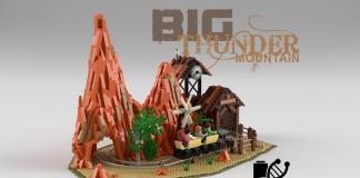 LEGO Ideas Disneyland Big Thunder Mountain