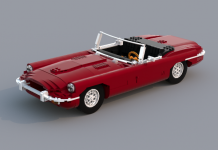 LEGO Ideas Jaguar E-type Roadster