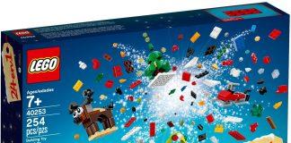 LEGO 40253 Christmas Build Up