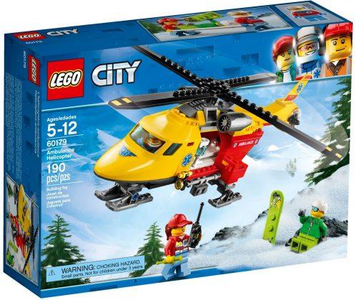 LEGO City60179 Ambulance Helicopter