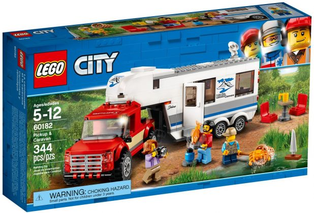 LEGO City60182 Pickup & Caravan