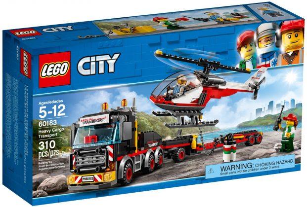 LEGO City60183 Heavy Cargo Transport