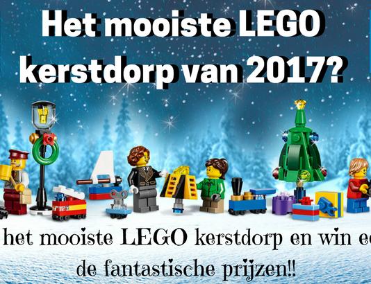 Heb jij het mooiste LEGO kerstdorp van 2017?