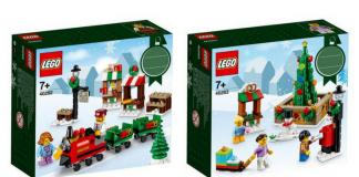 LEGO 40262 en 40263 morgen te koop