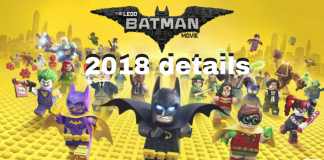 LEGO Batman Movie 2018 details