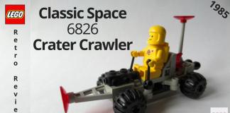 LEGO Classic Space 6826 Crater Crawler