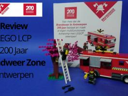 LEGO LCP 200 Jaar Brandweer Zone Antwerpen